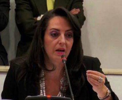 Colombian Uribista Senator Maria Fernanda Cabal