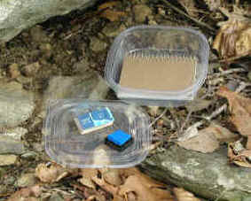 Letterboxing - another great out door activity for little to no cost