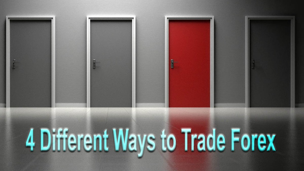 Four Different Ways to Trade Forex Thumb