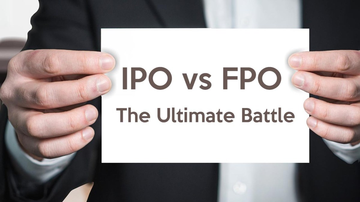 IPO vs FPO - Difference between IPO and FPO