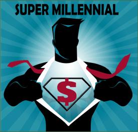 Super Millennial Logo