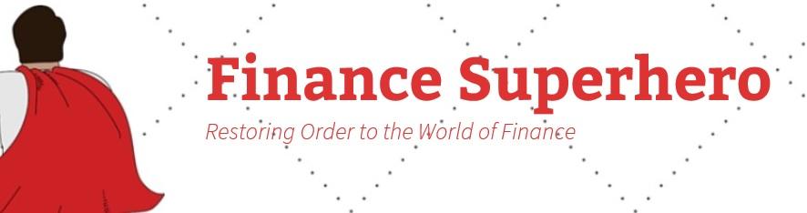 Finance Superhero - Guest post logo