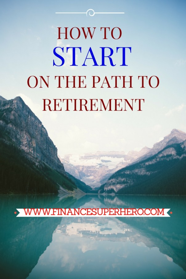 The most important step on the path to retirement is to START. Follow these steps to set your course.