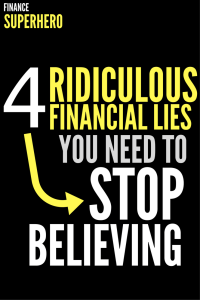 Are these common financial lies holding you back from achieving greater success with money and in life? We're debunking 4 widespread lies that can have a seriously detrimental impact on your finances.