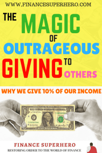 No matter what financial hurdles you face, giving and generosity will always help you improve your financial outlooks. Read on to learn why we give 10% of our income. You can start small and help others!