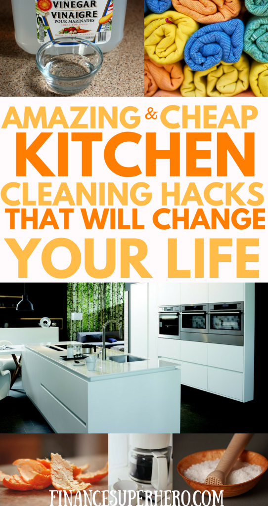 Clever kitchen cleaning hacks for cheapskates and clean for 9 kitchen life hacks