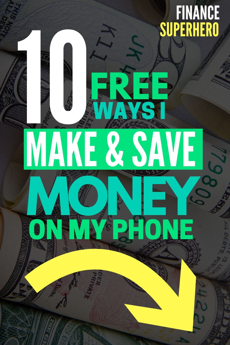 Calling all millennials! You can save money and make money using your phone -- and it's FREE. We'll show you the best apps to save money and make money without costing you anything. #sidehustle #makemoney #savemoney #moneytips #millennials