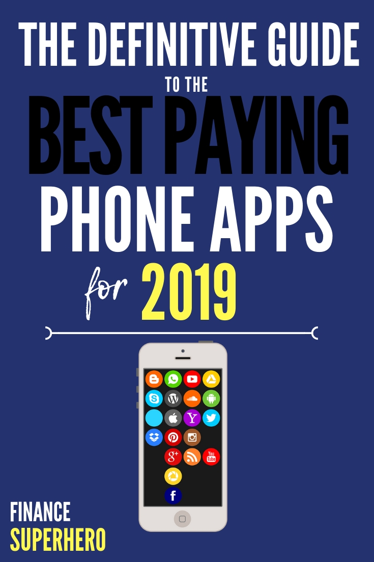 Are you looking for new ways to make money? Our definitive list of the best money making apps for 2019 is a great place to start! We're reviewing the best paying phone apps that pay real cash, along with 30+ other phone apps built to help you earn free gift cards, save more money, make passive income, and help you make extra money in your spare time.