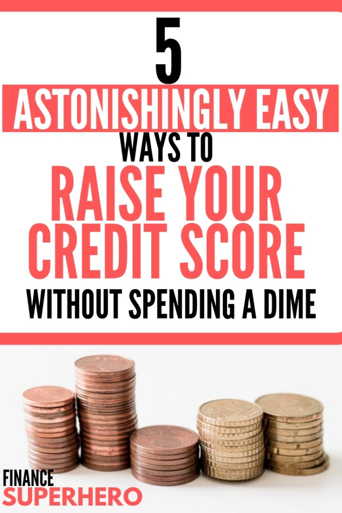 Whether you have good credit or bad credit, it's important to understand the impact that your credit score can have on your overall financial well-being—and then make a plan to increase your score. Check out our 5 astonishingly easy tips to boost your score without paying a credit repair agency.