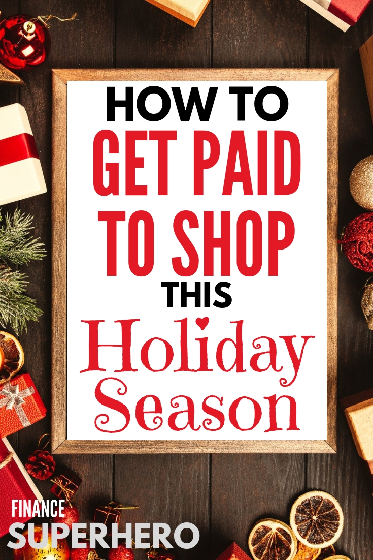 If getting paid to shop this holiday season sounds like a dream, consider it a dream come true! You can make extra money this holiday season while shopping for other people. Read more and see how!