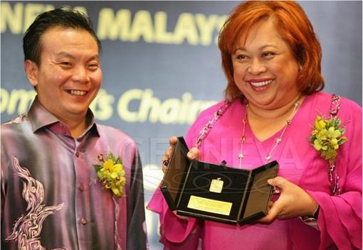 Genneva Gold Chairperson Tengku Muhaini Sultan Ahmad Shah