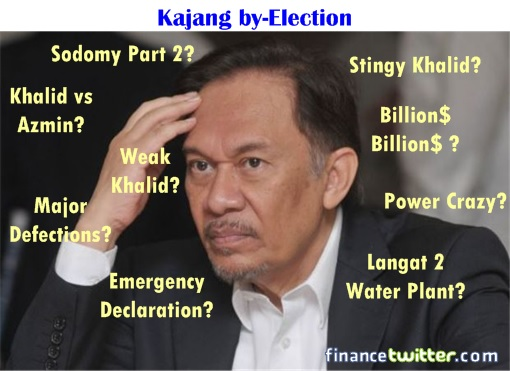 Kajang by-election - Multiple Reasons