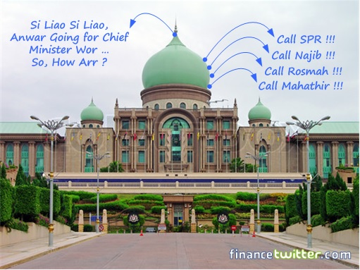 Kajang by-election - Putrajaya Panic