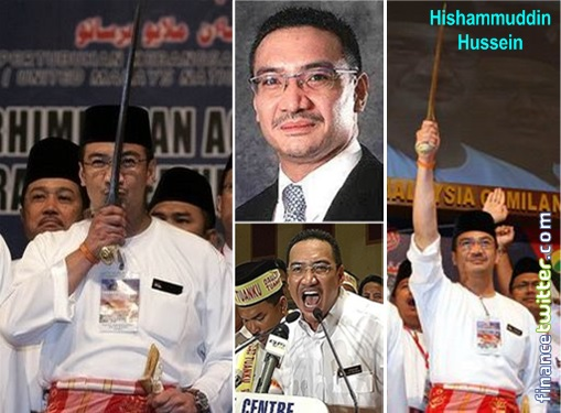 Image result for Hishamuddin Hussein Onn is a racist