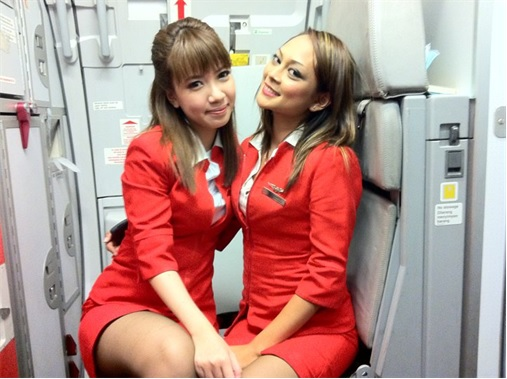 Secret Revealed - Crew Rest Area - AirAsia Crew Members