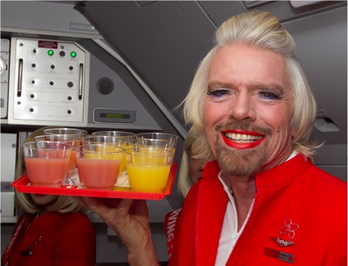 Secret Revealed - Crew Rest Area - Richard Branson as AirAsia Crew Member