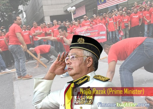Image result for Najib and the Red Shirts
