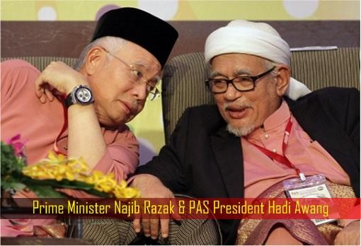 Image result for Najib supports Hudud