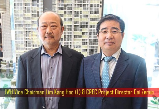 Image result for Iskandar Waterfront Holdings (IWH) executive vice chairman Lim Kang Hoo