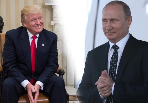 Image result for trump and putin smiling