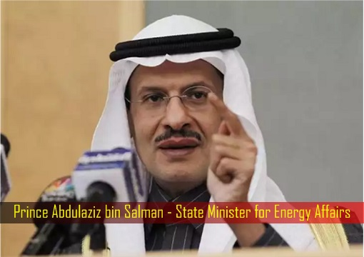 Prince Abdulaziz bin Salman - State Minister for Energy Affairs