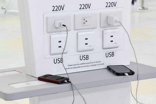 公共USB充电站