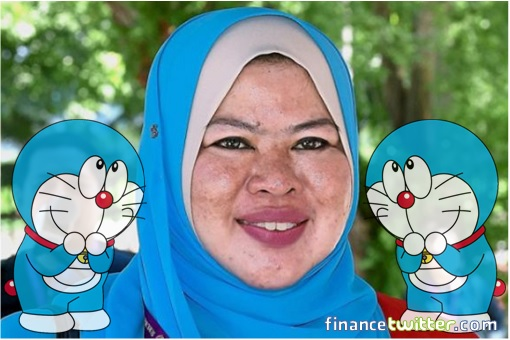 Doraemon Minister Rina Mohd Harun