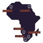 Top 5 des villes africaines les plus populaires sur le net