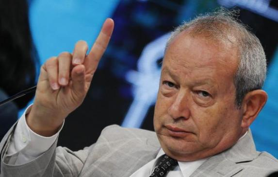 Egyptian billionaire Naguib Sawiris, chairman of Orascom TMT Holding, speaks during the Egypt Economic Development Conference (EEDC) in Sharm el-Sheikh, in the South Sinai governorate, south of Cairo, March 14, 2015. REUTERS/Amr Abdallah Dalsh