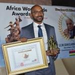 Le vibrant discours de  Jean Claude de L'Estrac, lauréat du «New Face of Africa Award 2016»
