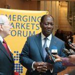 La Côte d'Ivoire obtient 15,4 milliards de dollars d'engagements financiers pour ses investissements publics