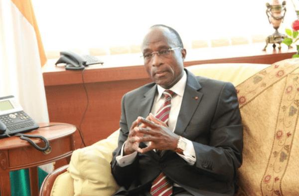 Adama Koné, le ministre ivoirien en charge de l'Economie et des Finances.
