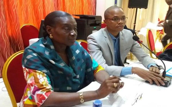 Mme Chantal Angoua, responsable du point focal OGP-Côte d'Ivoire, par ailleurs conseiller technique au ministère de l'Industrie et des Mines.