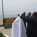 Gabon : Ali Bongo inaugure un nouveau port minéralier