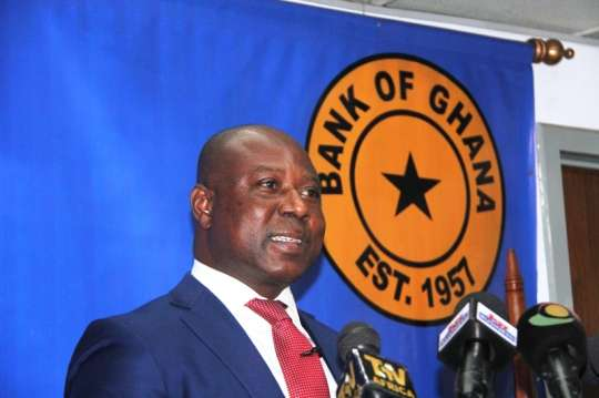 Abdul-Nshiru Issahaku, Gouverneur de la Banque centrale du Ghana