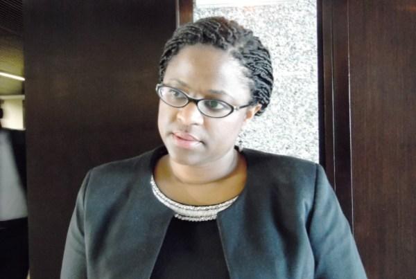 Gaëlle Biteghe, Directrice générale d'Ecobank Gabon