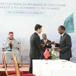 Le groupe Banque populaire signe deux conventions avec l'Etat ivoirien
