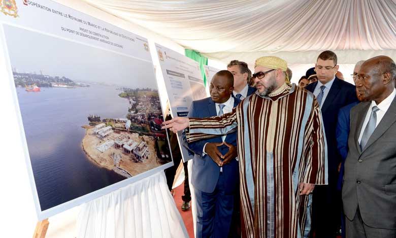 Côte d'Ivoire : les débarcadères Mohammed VI et Alassane Ouattara bientôt inaugurés