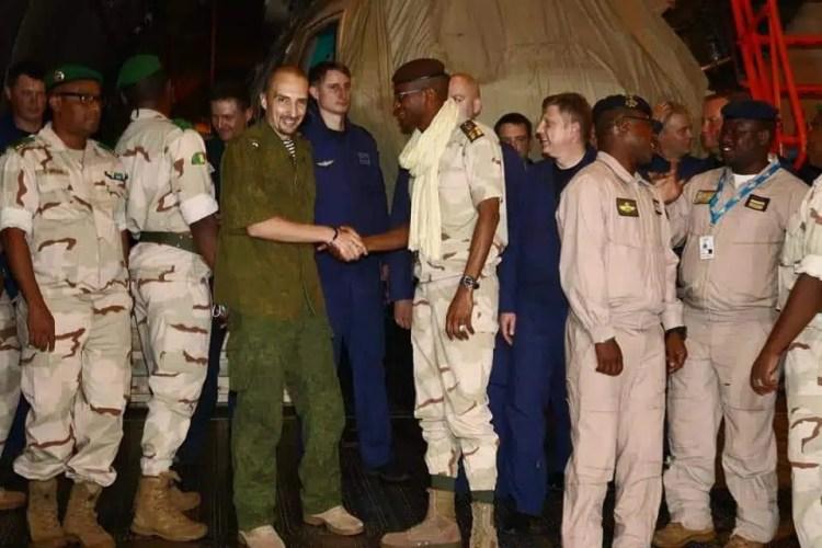 Le Mali réceptionne des hélicoptères de combat livrés par la Russie -  Financial Afrik