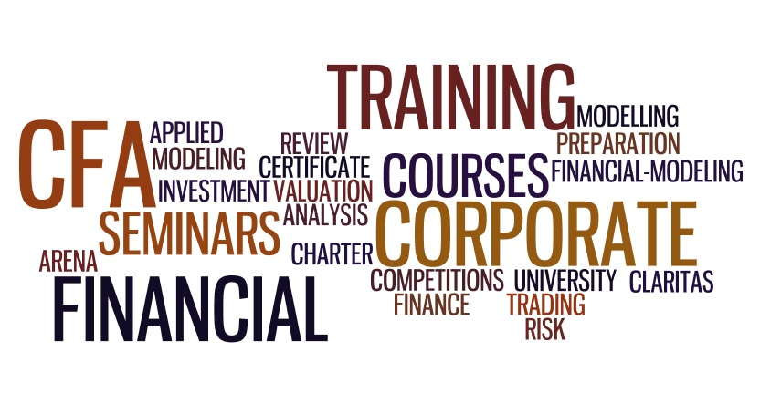 Cfa preparation courses, financial training, financial modeling, claritas