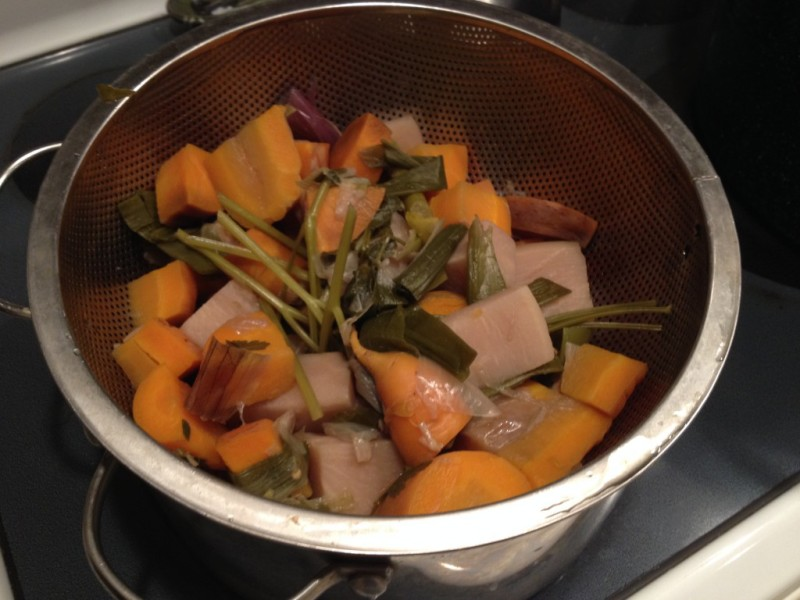 Leftover Vegetables from The Garden? Make Vegetable Stock.