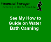 How to guide on water bath canning
