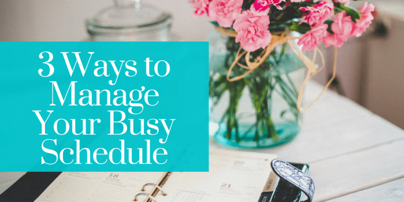 Life is hectic. We all need help managing our busy schedules.