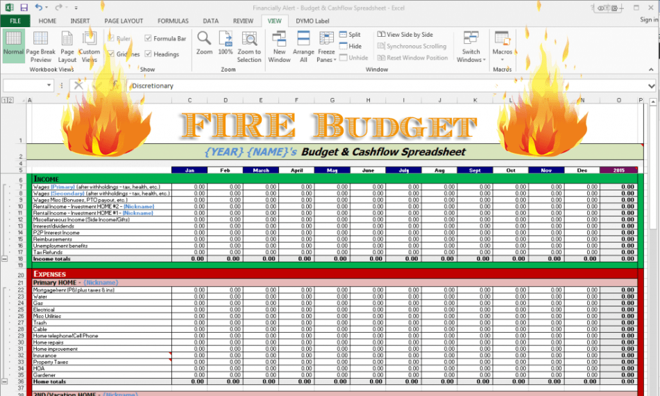 the simplest badass fire budget you can implement today
