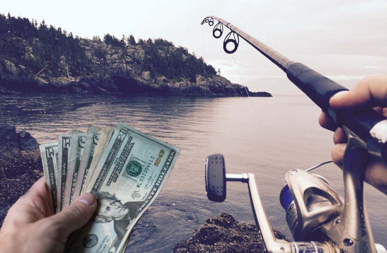 Image result for check your finances to be a fisherman