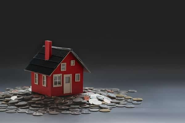 an image that depicts to buy a house with cash