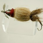 Paw Paw Hair Mouse Lure Top View