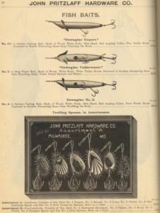 Heddon Dowagiac Expert Lure Ad 1903