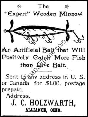 Holzwarth Expert Minnow Lure 1901