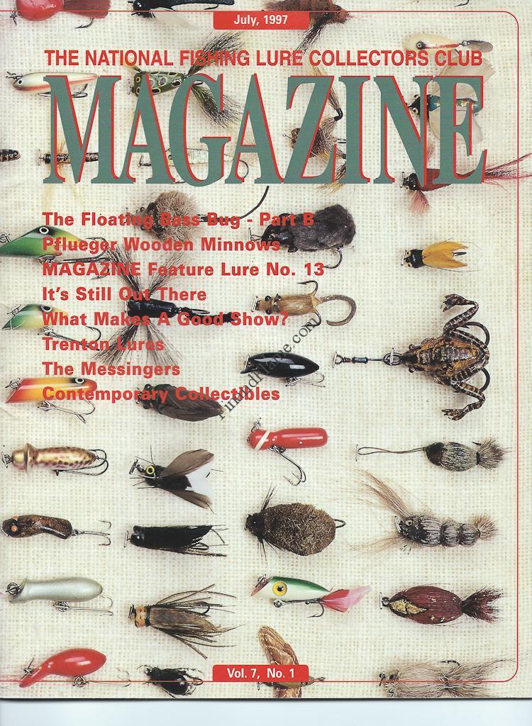 NFLCC Magazine Article Index 1997 Vol 7 No 1